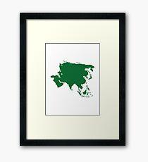 Asia Framed Print
