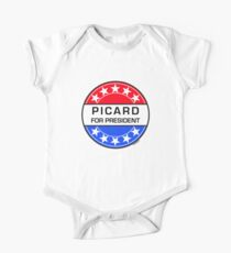PICARD FOR PRESIDENT One Piece - Short Sleeve