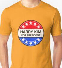 HARRY KIM FOR PRESIDENT Unisex T-Shirt