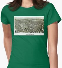 Fort Worth - Texas - 1891 Womens Fitted T-Shirt