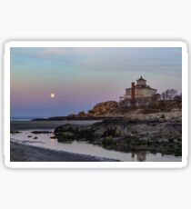 Moonrise Good Harbor Beach Sticker