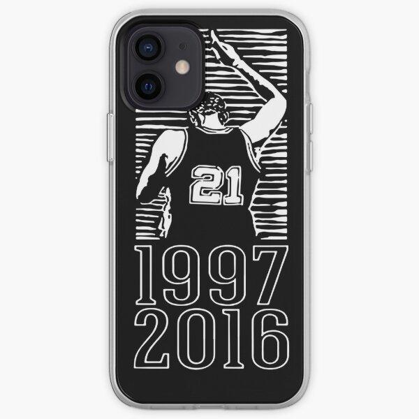 Tim Duncan retirement shirt iPhone Soft Case