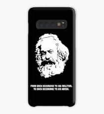 Karl Marx quote Case/Skin for Samsung Galaxy