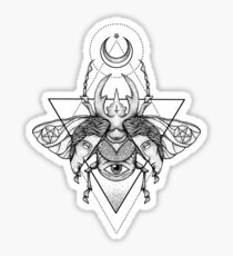 Occult Beetle II Sticker