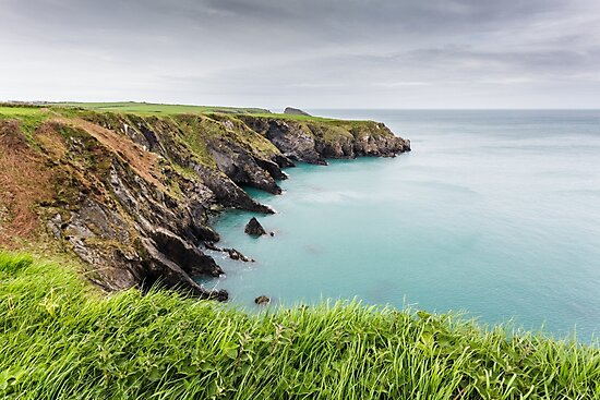 Coastal Views, Abercastle by Heidi Stewart