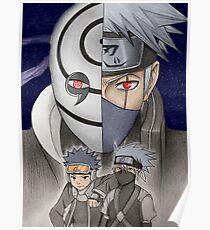 Tobi & Kakashi Poster