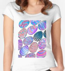 Graphizen eggs Women's Fitted Scoop T-Shirt