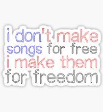Blessings lyrics Sticker
