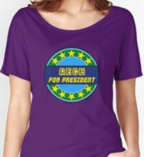 AECH FOR PRESIDENT Women's Relaxed Fit T-Shirt