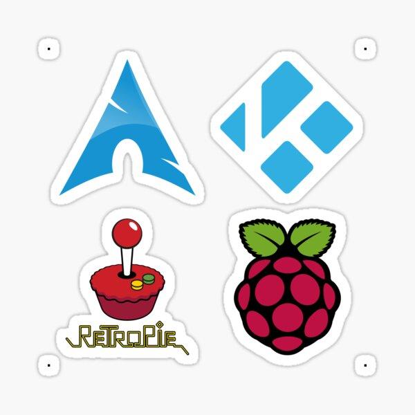 Arch Linux - Raspberry Pi Case Sticker Sticker