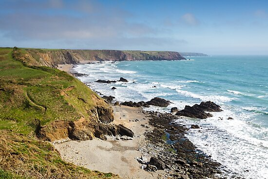 Marloes Sands in Spring, Pembrokeshire by Heidi Stewart