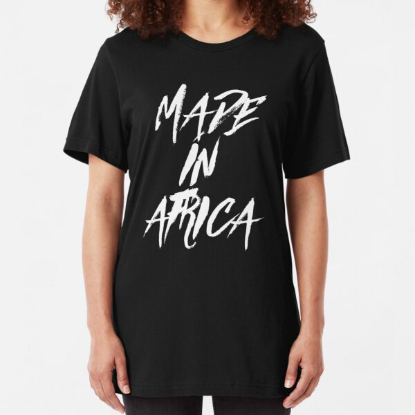 MADE IN AFRICA Slim Fit T-Shirt