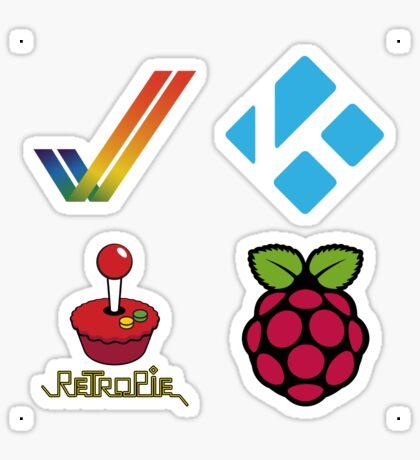 Amiga Tick - Raspberry Pi Case Sticker Sticker