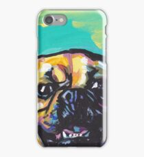 Puggle Dog Bright colorful pop dog art iPhone Case/Skin