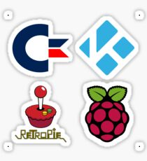 Commodore Logo - Raspberry Pi Case Sticker Sticker