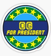 OG FOR PRESIDENT Sticker