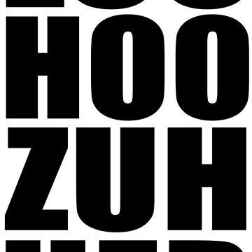 Ace Ventura - Loo Hoo Zuh Her by movie-shirts