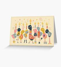 Happy tweety Hanukkah Greeting card Greeting Card