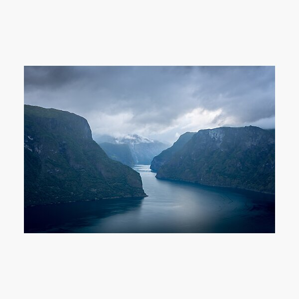 Sognefjord Landscape Photographic Print