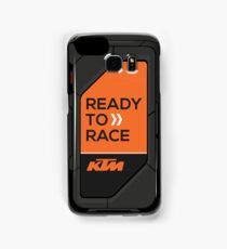 high tech KTM carbon fiber case Samsung Galaxy Case/Skin