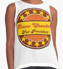 DIANE CHAMBERS FOR PRESIDENT Contrast Tank