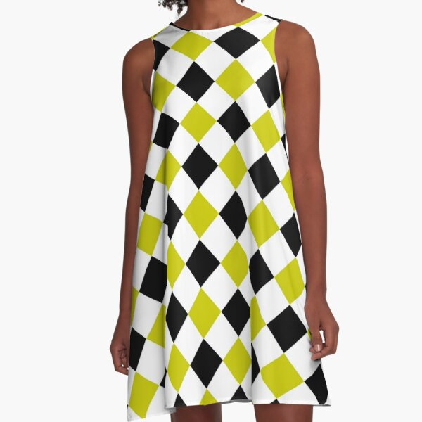 Diamond Pattern #1 A-Line Dress