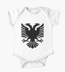 Albanian Eagle / Flag One Piece - Short Sleeve