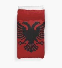 Albanian Eagle / Flag Duvet Cover