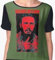 Fidel Castro art Chiffon Top