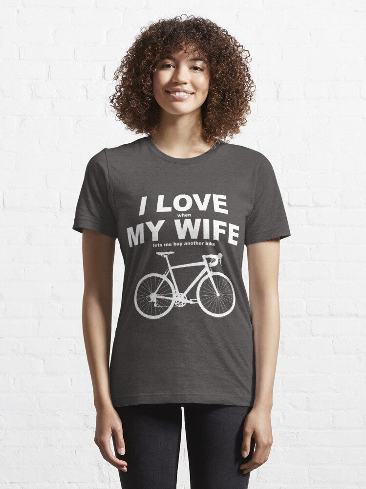 Alternate view of I LOVE MY WIFE* Essential T-Shirt