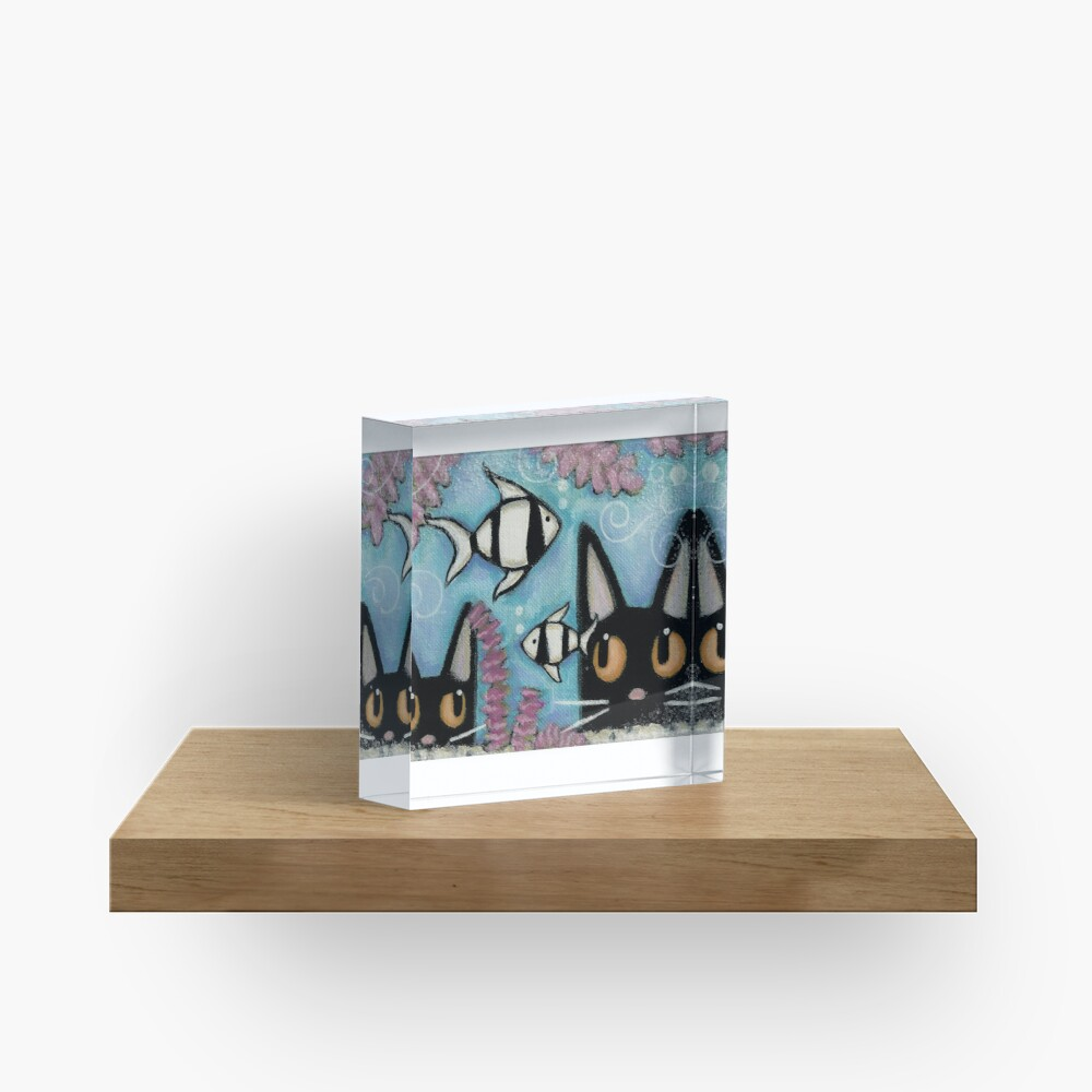 Zebra Fish Acrylic Block