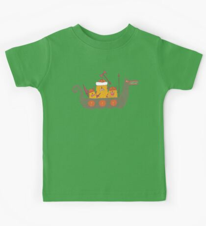Viking Party Animals in a  Dragon Boat Kids Clothes