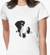 Death-row Women's Fitted T-Shirt