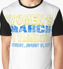 Women's march on Washington  Graphic T-Shirt