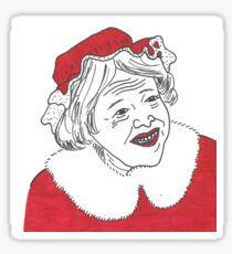 Kathy Bates' Bad Santa 2 Sticker