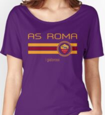Serie A - AS Roma (Home Dark Red) Women's Relaxed Fit T-Shirt