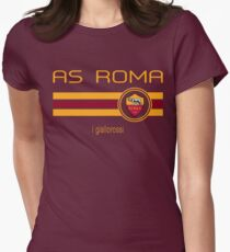 Serie A - AS Roma (Home Dark Red) Women's Fitted T-Shirt