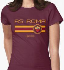 Camiseta entallada Serie A - AS Roma (Home Dark Red)