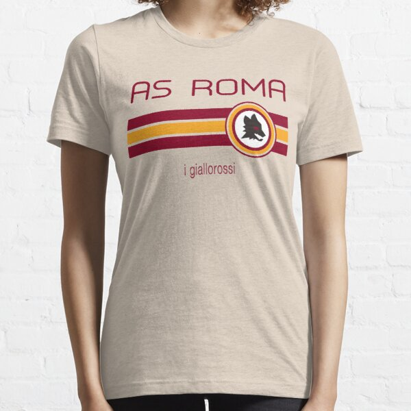 Serie A - AS Roma (Away Creme) Essential T-Shirt