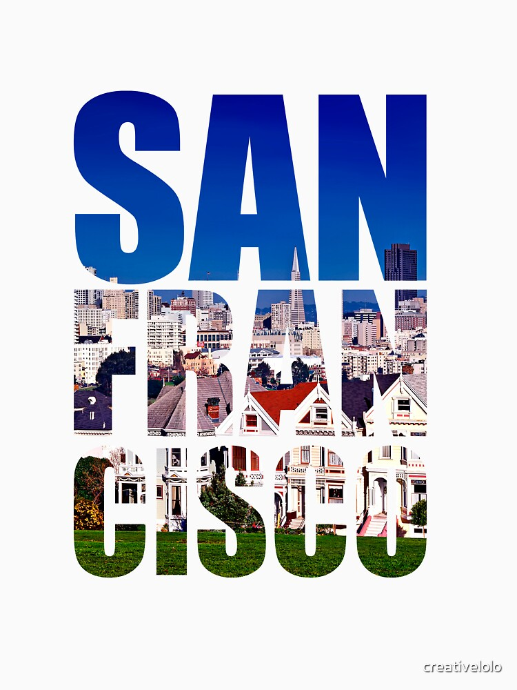 San Francisco, Painted Ladies by creativelolo