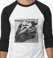 Piaggio MP3 Three-Wheeled Scooter Men's Baseball ¾ T-Shirt