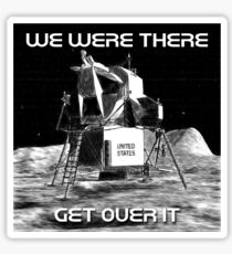 Moon Landing Design Sticker