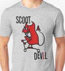 Scoot Devil (Large) Unisex T-Shirt