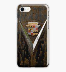 Abandoned 1948 Cadillac Emblem Detail iPhone Case/Skin