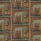 Angry Elephant by MaritaChustak