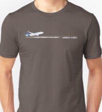 Camiseta unisex Airbus A320 Sharklet
