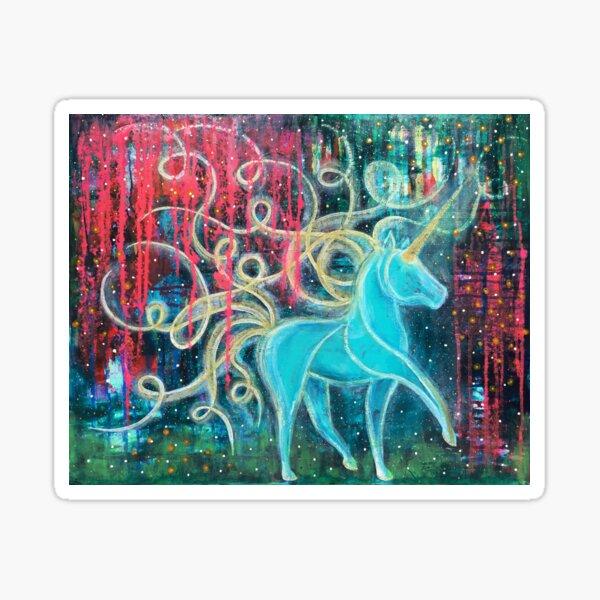 Embrace the Mystical Sticker