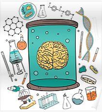 Scientific Brain Chemistry Poster