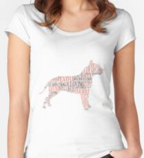 Have you met my pitbull? Women's Fitted Scoop T-Shirt