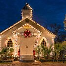 Vieux Village Vintage Church in Opelousas, Louisiana by Bonnie T.  Barry